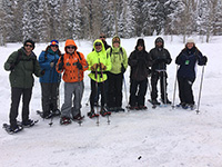 Snowshoeing on the Grand Mesa